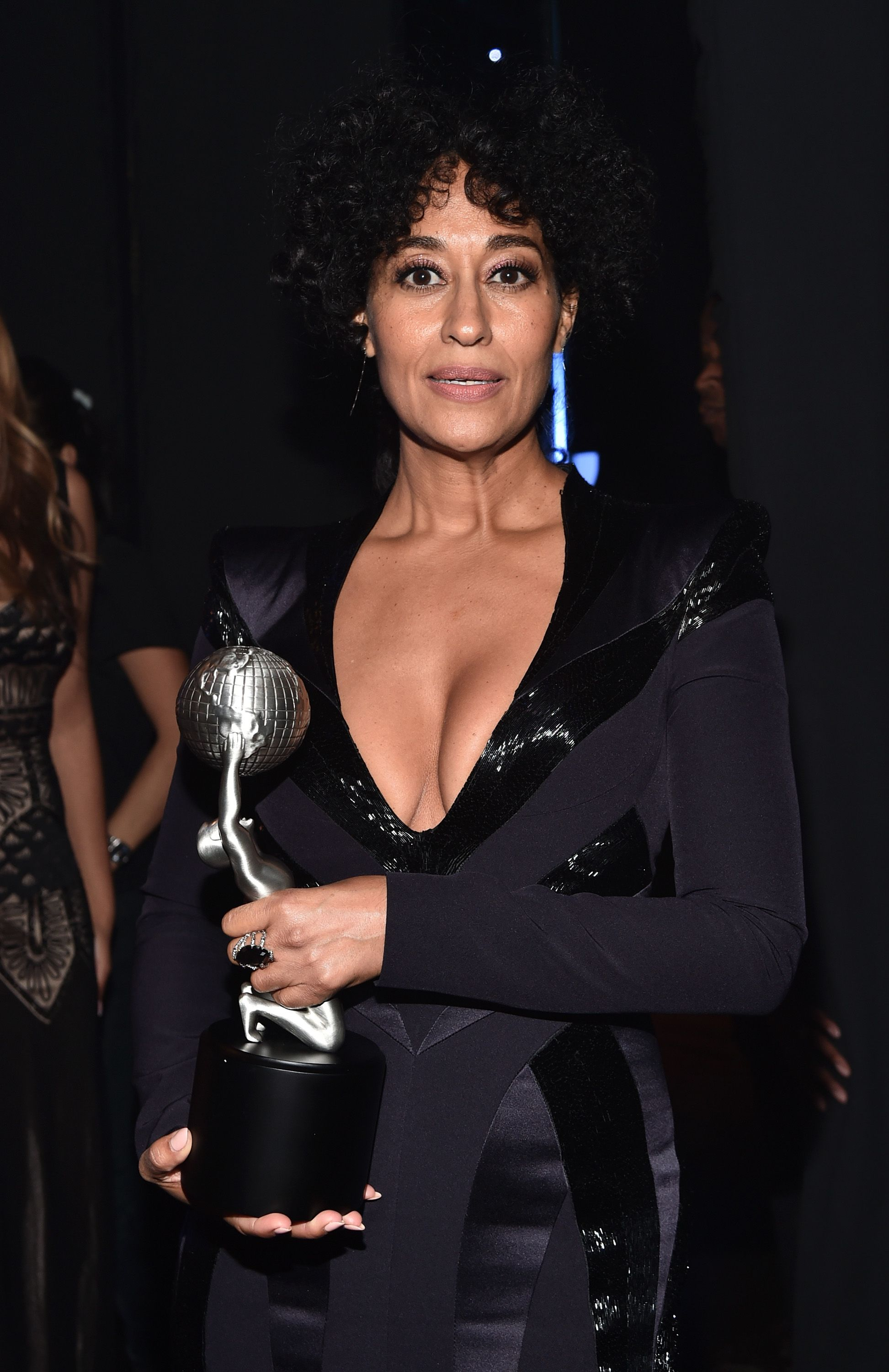 Tracee Ellis Ross attending the 47th NAACP Image Awards presented by TV One at Pasadena Civic Auditorium in California on February 5, 2016. | Photo: Getty Images