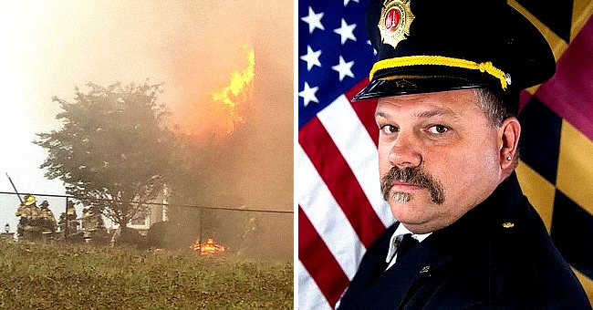 Veteran Firefighter Trapped in Burning Home Sends a Final Message to His Family