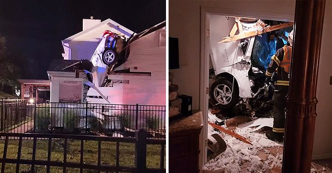Car Crashes through the Roof of a Missouri Family's House and Landed a Few Feet Away from Bed
