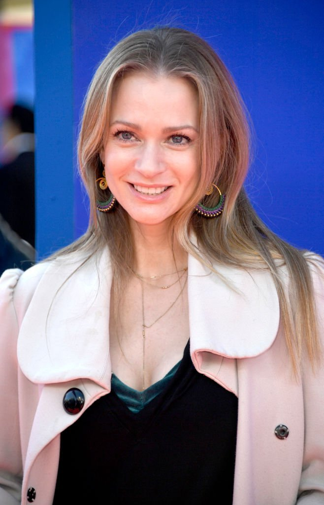 """A.J. Cook attends the premiere of Paramount Pictures' """"Wonder Park"""" at Regency Bruin Theatre 