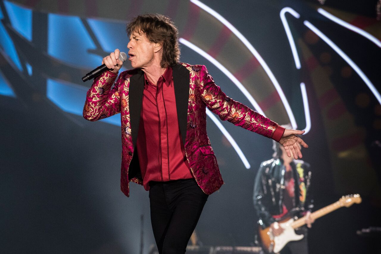 Mick Jagger performs at Maracana Stadium in Brazil. | Source: Getty Images