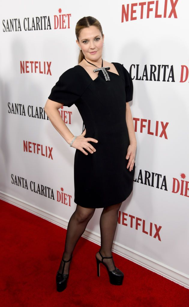 """Drew Barrymore at the """"Santa Clarita Diet"""" premiere in Los Angeles, California   Photo: Michael Kovac/Getty Images for Netflix"""