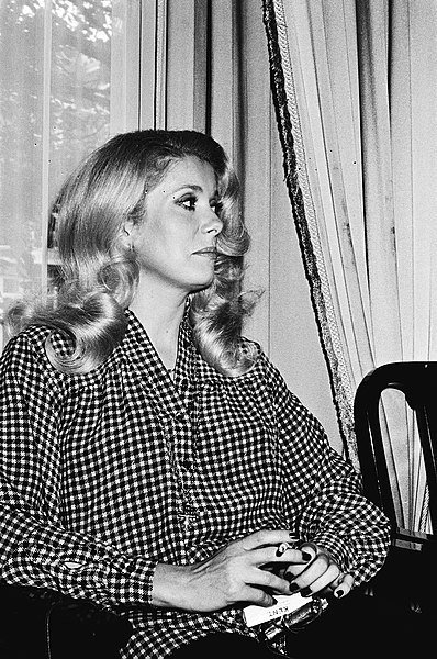 Catherine Deneuve pour la collection photo Anefo, en Mai 1979 | Wikimedia commons