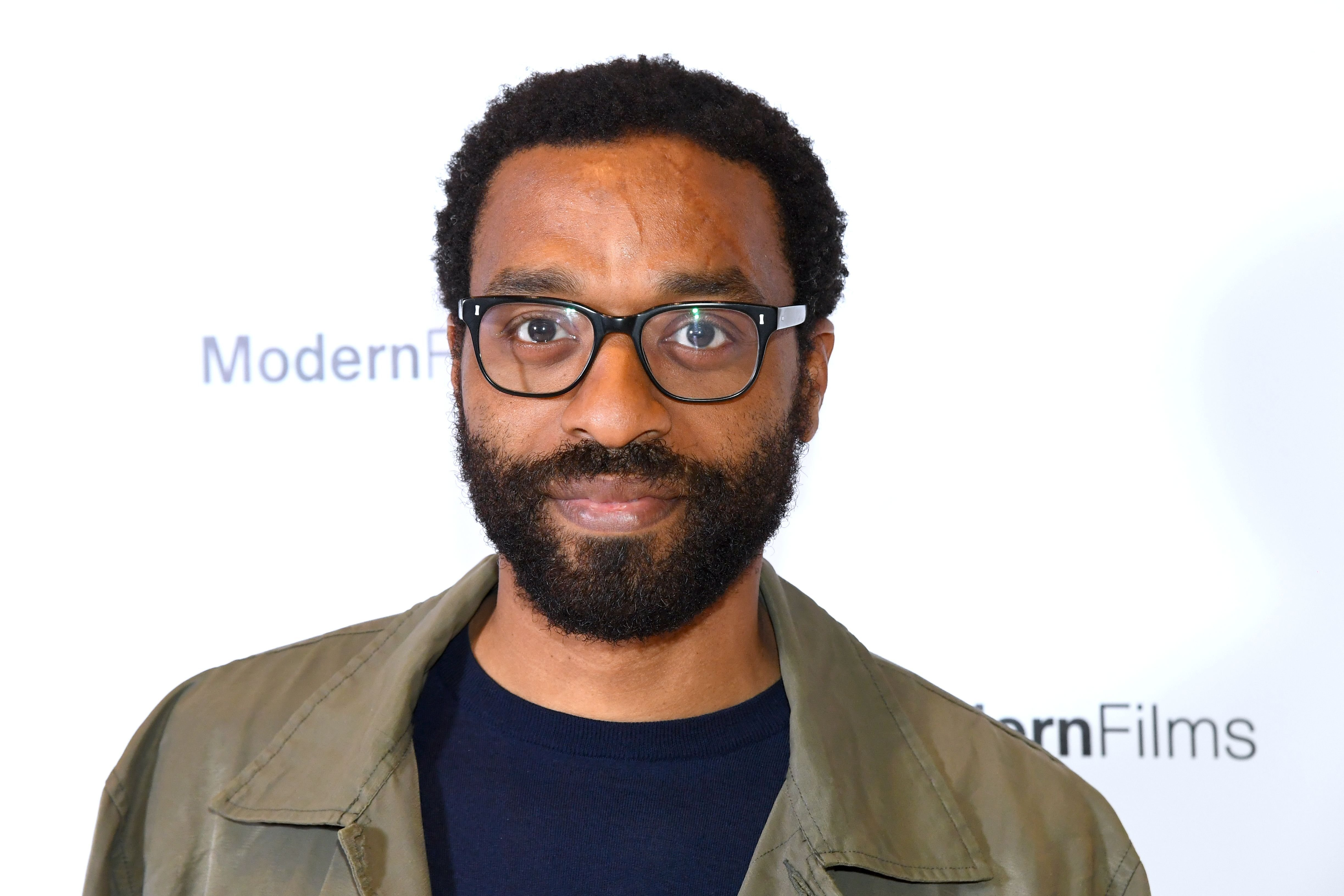 "Chiwetel Ejiofor attends the ""Yuli – The Carlos Acosta Story"" screening reception at The Royal Opera House on April 03, 2019 in London, England. 