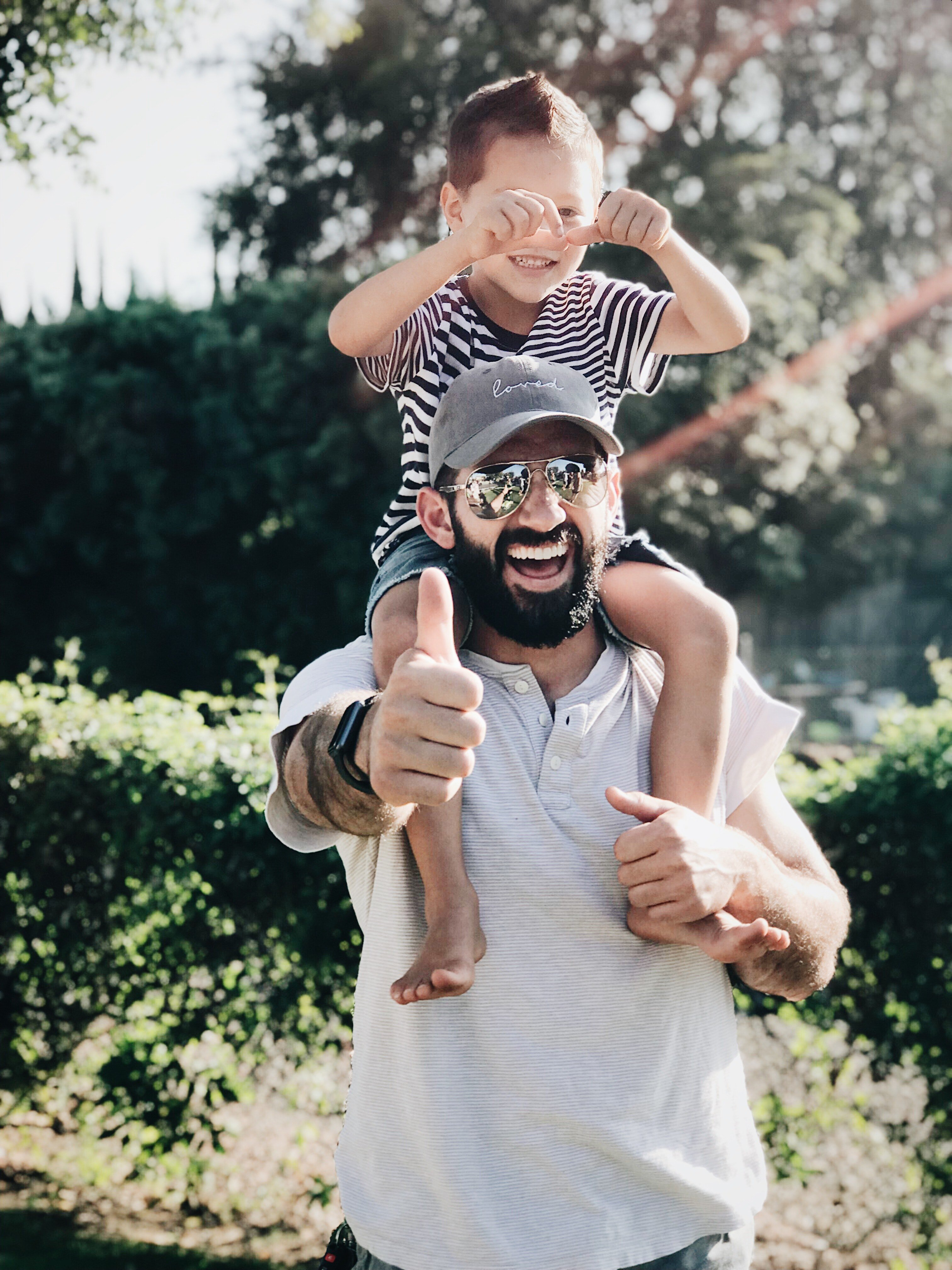 An image of a father and his son   Photo: Pexels
