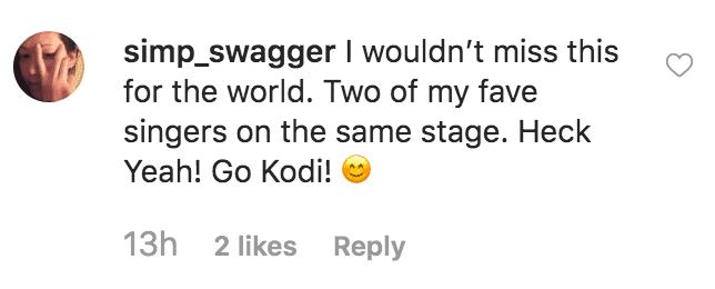 """Fan celebrates Kodi Lee making it to the """"America's Got Talent"""" season finale   Source: instagram.com/kodileerocks"""