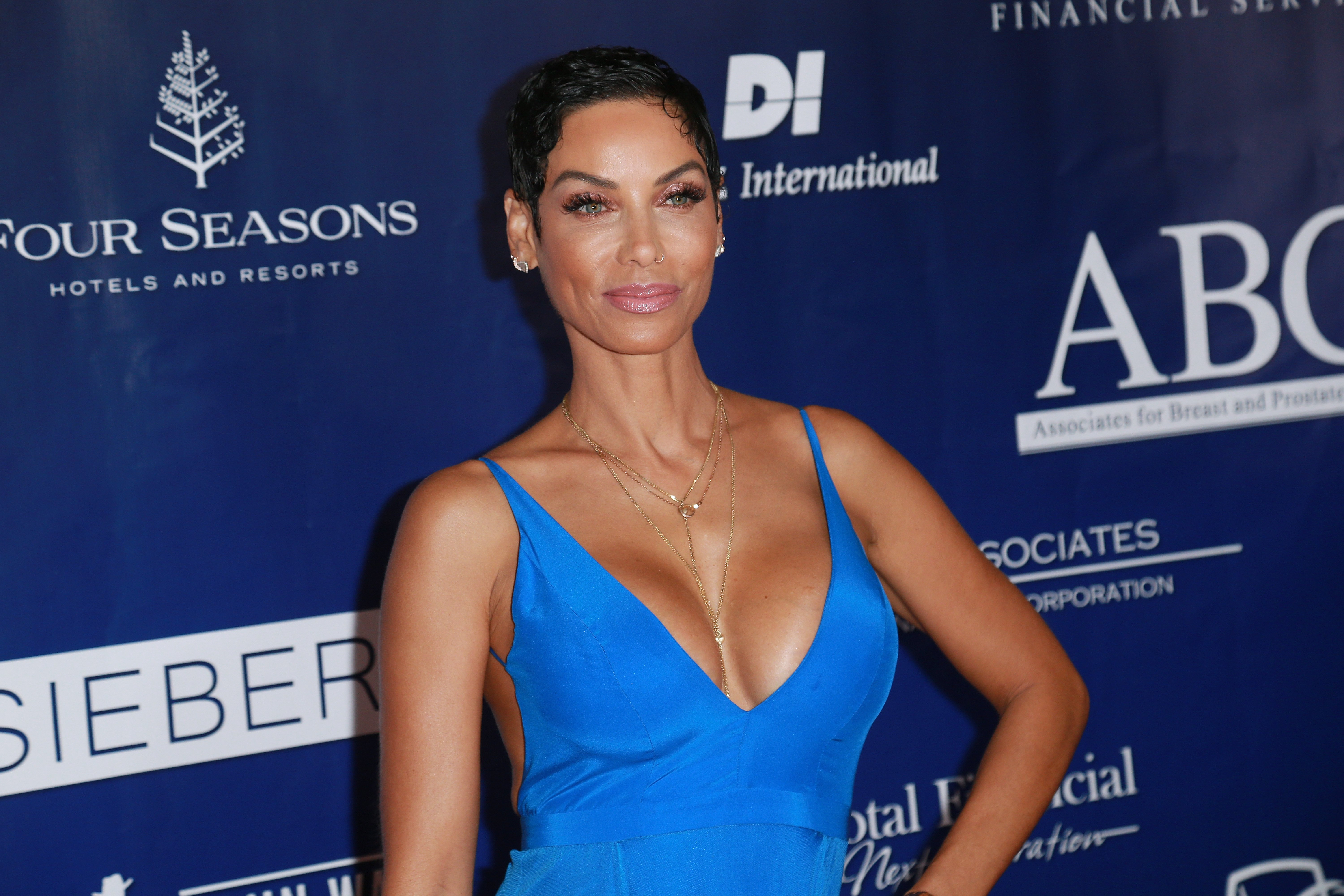 Nicole Murphy at the 28th Annual Talk Of The Town Gala on Nov. 18, 2017 in California | Photo: Getty Images