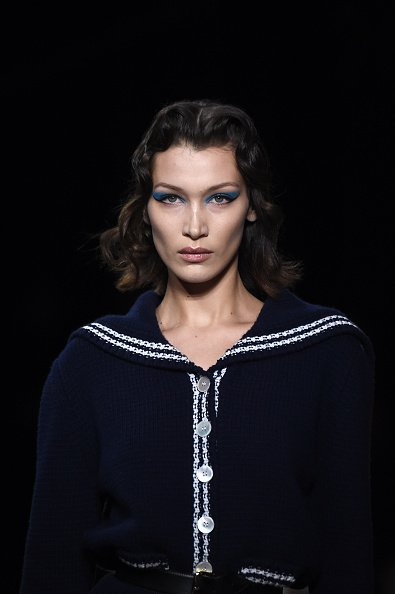 Bella Hadid walks the runway on March 03, 2020 in Paris, France. | Photo: Getty Images