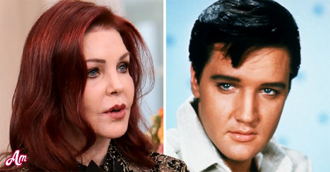 Priscilla Presley (Left) and Elvis Presley (Right) | Photo: Getty Images