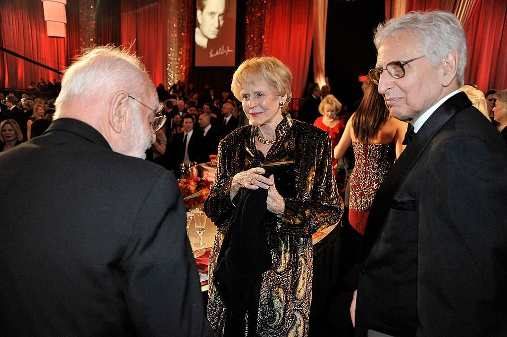 Frank Pierson, Diana Douglas Darrid and Bill Darrid during the AFI Lifetime Achievement Award: A Tribute to Michael Douglas held at Sony Pictures Studios | Photo: Getty Images