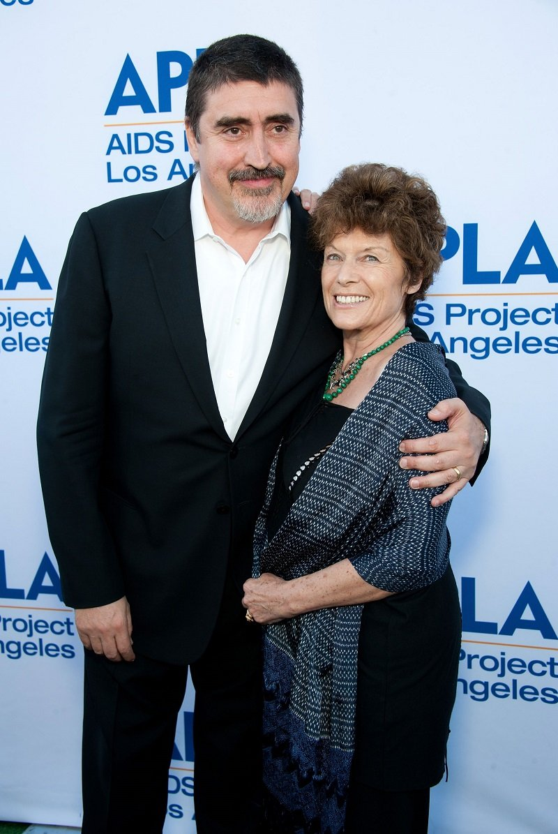Alfred Molina and his wife, Jill Gascoine on June 30, 2012 in Los Angeles, California | Photo: Getty Images