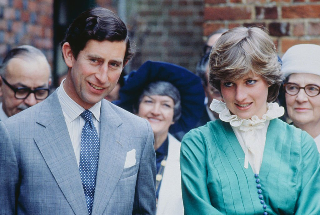 Prince Charles and Lady Diana Spencer opening the Mountbatten Exhibition at Broadlands, January 1981   Source: Getty Images