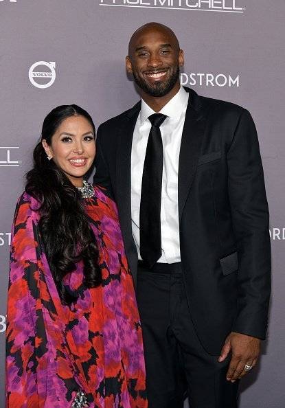 Vanessa Laine Bryant and Kobe Bryant at the 2019 Baby2Baby Gala in California.| Photo: Getty Images.