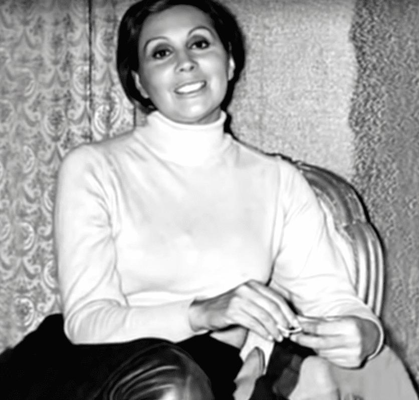 Rita Macedo, famosa actriz de la época de oro del cine mexicano.   Imagen: YouTube/Imagen Entretenimiento