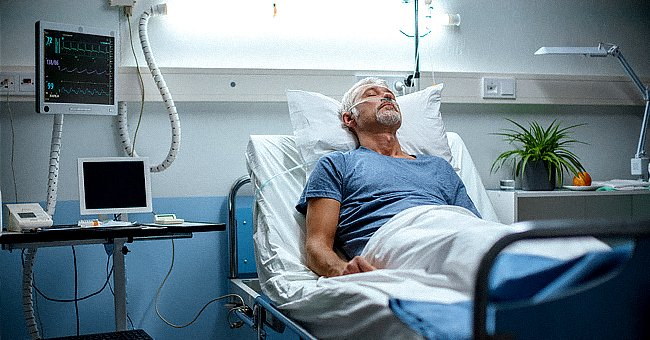 The elderly couple's marital bliss would soon be interrupted by the husband's dire health condition.   Photo: Shutterstock