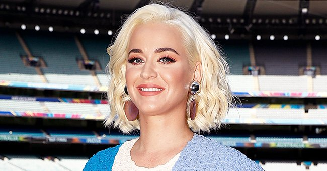 Heavily Pregnant Katy Perry Flaunts Her Huge Baby Bump in a Crop Top