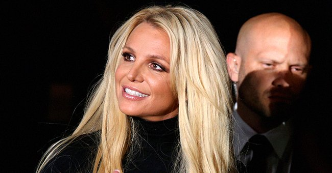 """Britney Spears attends the announcement of her new residency, """"Britney: Domination"""" at Park MGM, October 2018   Source: Getty Images"""