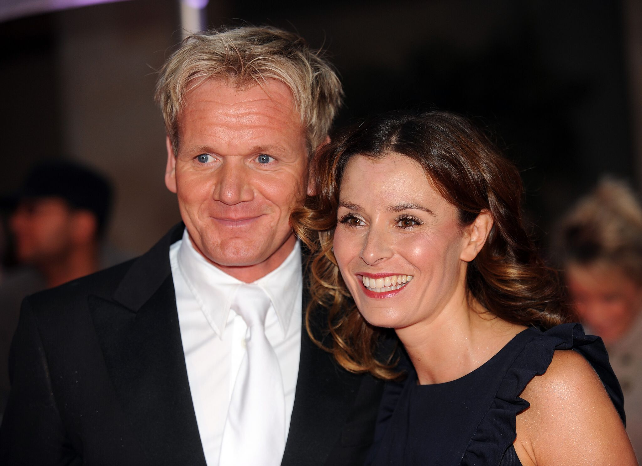 Gordon Ramsay and his wife Tanya Ramsay arrive for the Daily Mirror's Pride Of Britain Awards 2009 | Getty Images