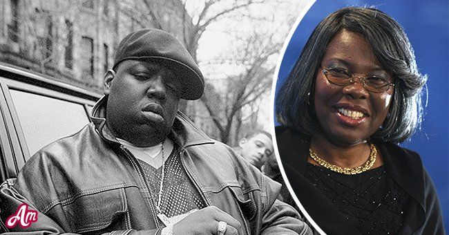 A picture of Notorious B.I.G and his mum, Voletta Wallace | Photo: Getty Images