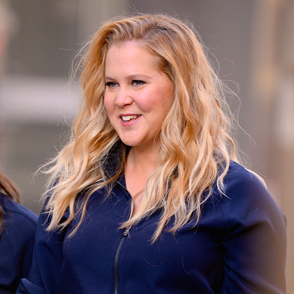 Amy Schumer hat am 25. Oktober 2018 in New York City einen Werbespot in SoHo gedreht. (Foto von Robert Kamau / GC Images) | Quelle: Getty Images