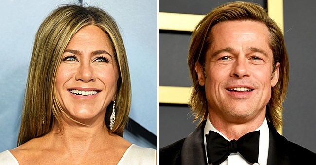 Jennifer Aniston & Brad Pitt Look Happy Reuniting for 'Fast Times at Ridgemont High' Table Read