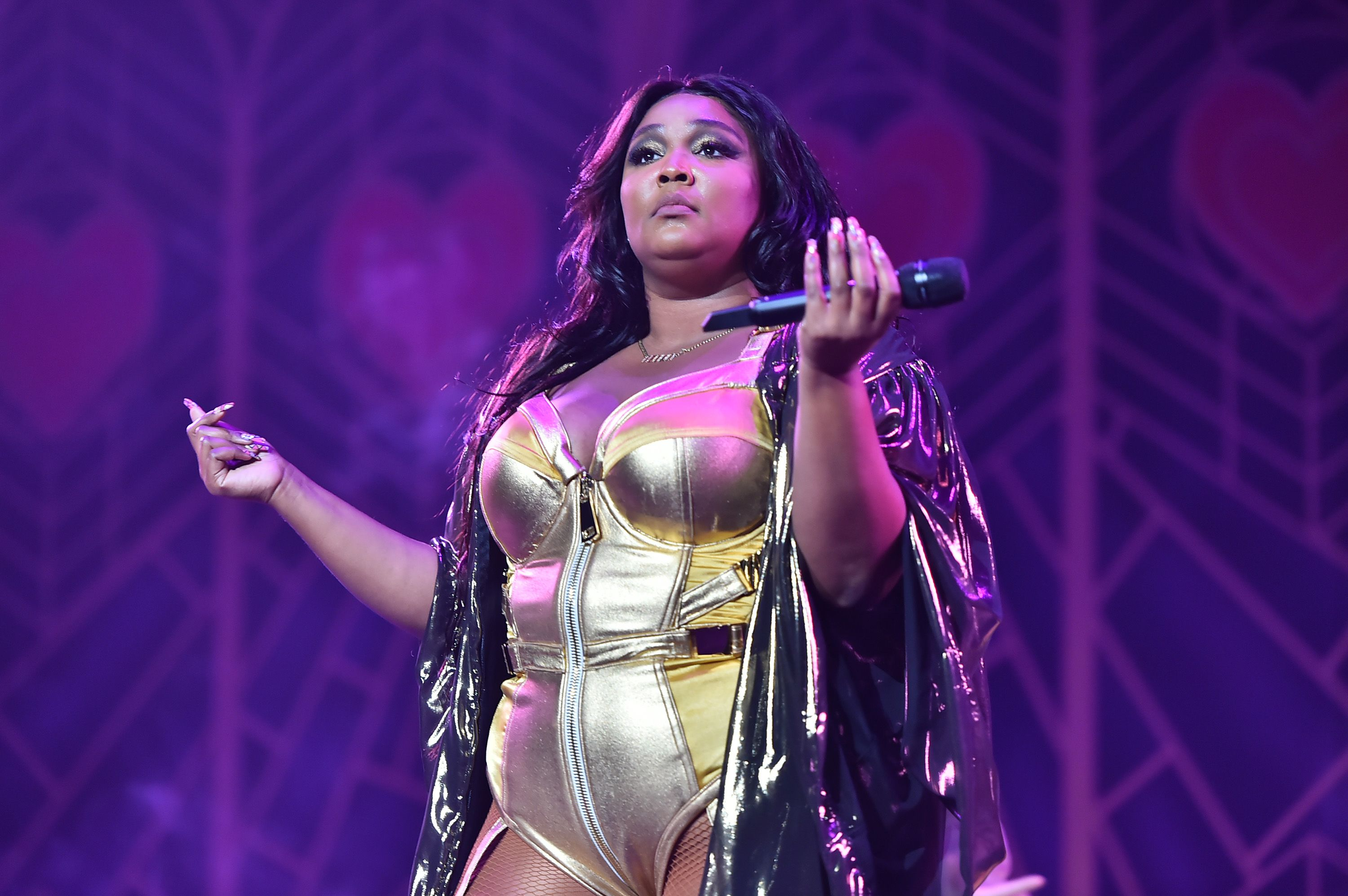 Lizzo performs at Radio City Music Hall on September 24, 2019, in New York City | Photo: Theo Wargo/Getty Images