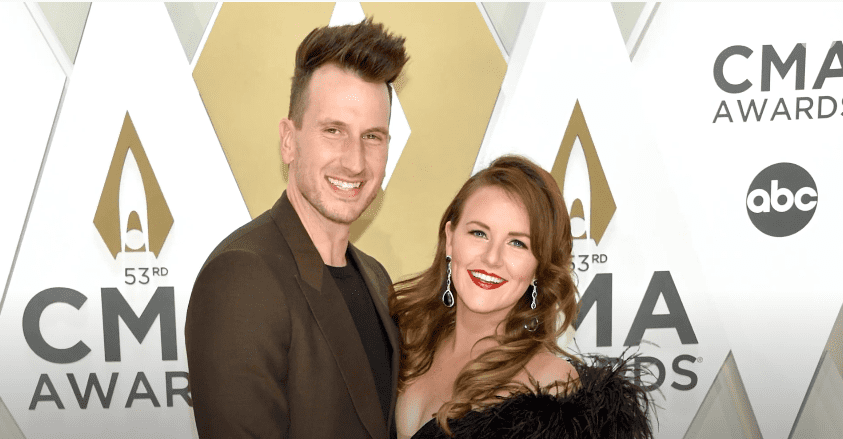 Photo of country star Russell Dickerson and wife Kailey at an event | Photo: Youtube / PopCulture