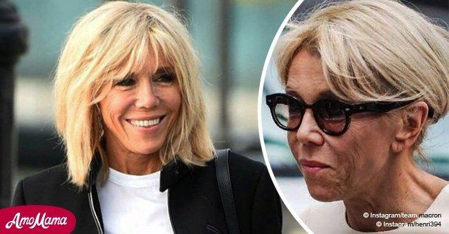 Brigitte Macron a 65 ans : L'évolution de ses coupes de cheveux