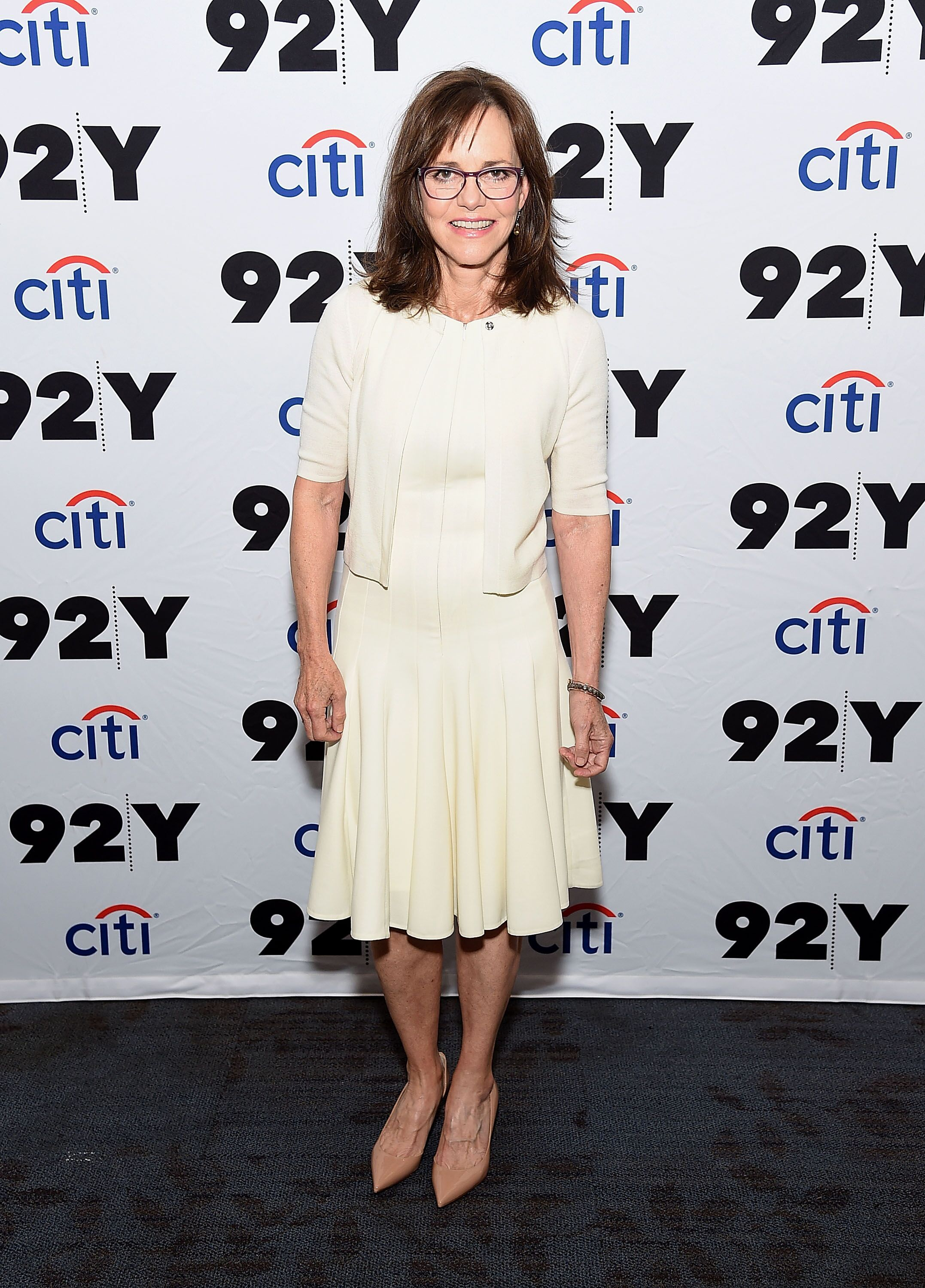 Sally Field poses for photos at the 92nd Street Y Presentd. | Source: Getty Images