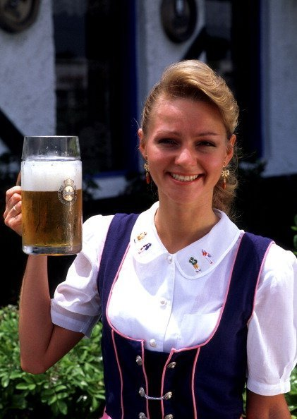 Costumed Beer Waitress in Munich Germany   Photo: Getty Images