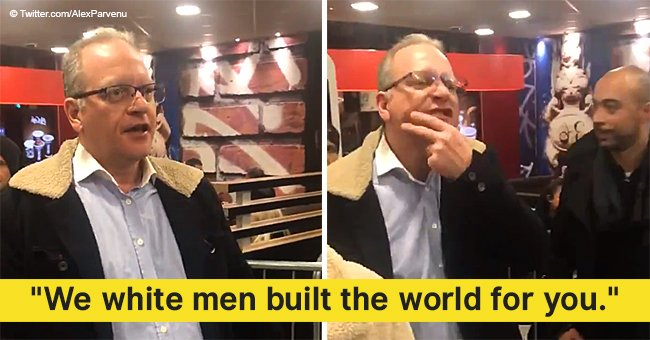 White man goes on racist, sexist, and xenophobic rant at a McDonald's in viral video