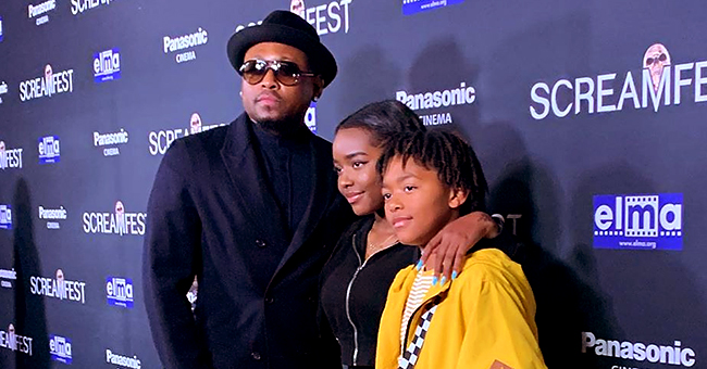Omar Epps Makes Rare Appearance with Son Amir and Daughter K'mari at 'Trick' Movie Premiere
