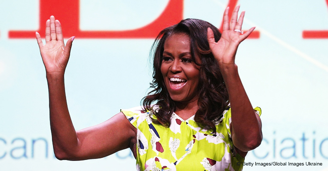Michelle Obama Smoothly Hits the Woah Dance (Video)