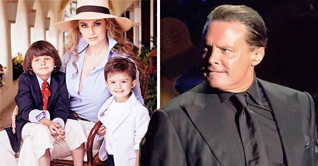 Aracely Arámbula pide ayuda a la prensa para que Luis Miguel vaya a la comunión de sus hijos