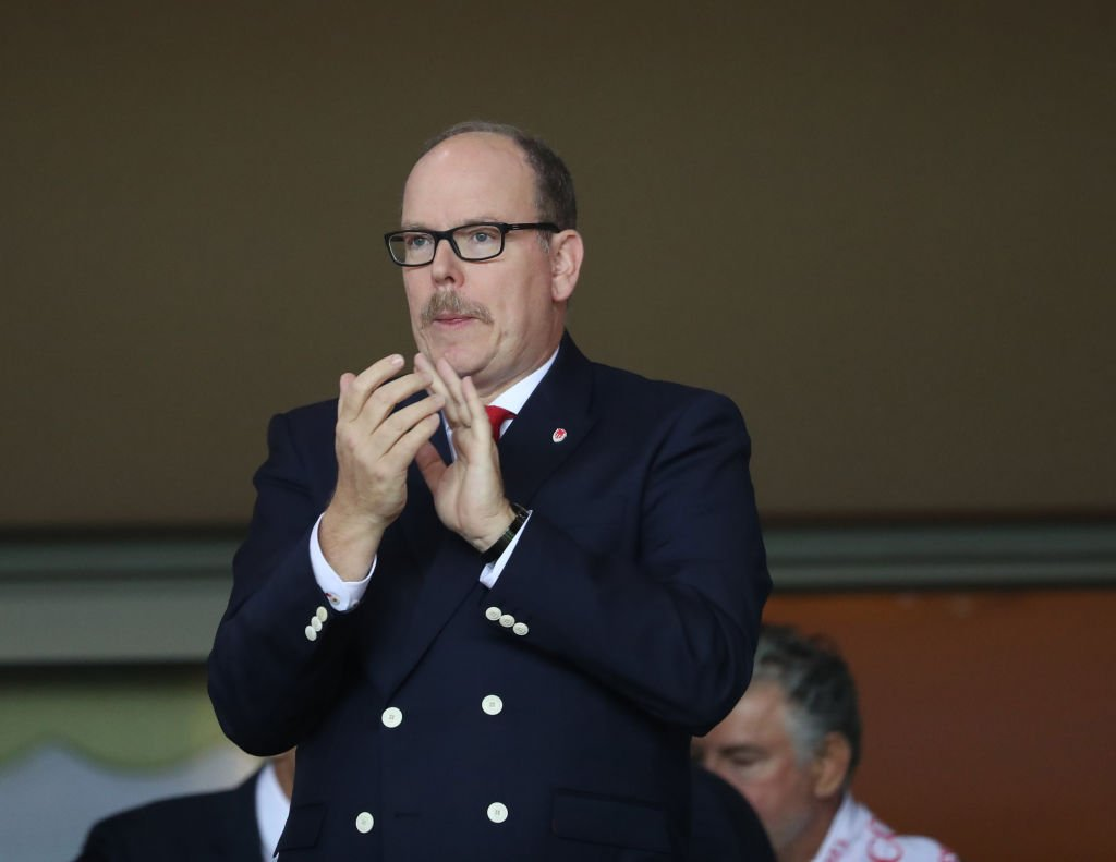 Albert II Prince of Monaco looks on during the UEFA Champions League match at Stade Louis II in Fontvieille, Monaco on October 17, 2017 | Photo: Getty Images