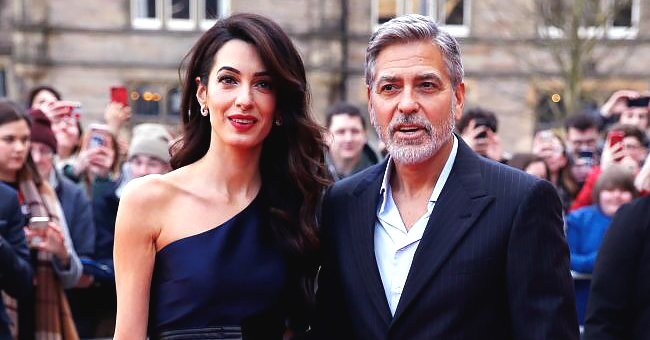 George Clooney and Wife Amal Reportedly Donate over $1 Million to Help Fight Coronavirus