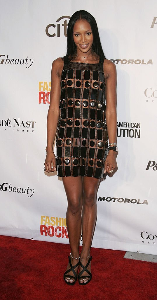 Naomi Campbell attends the Fashion Rocks Concert on September 8, 2004 | Photo: GettyImages