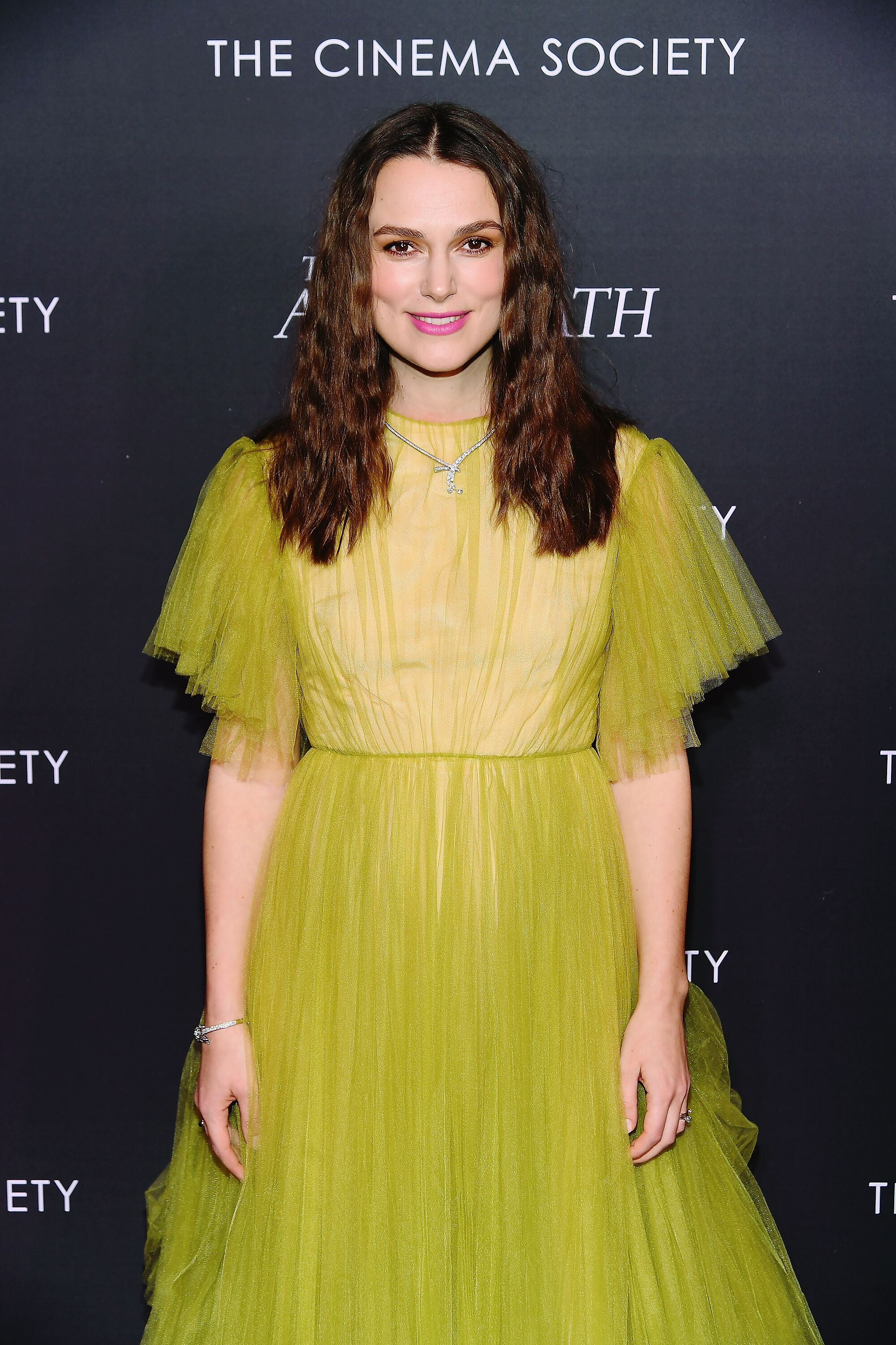Keira Knightley at The Cimena Society event. | Source: Getty Images