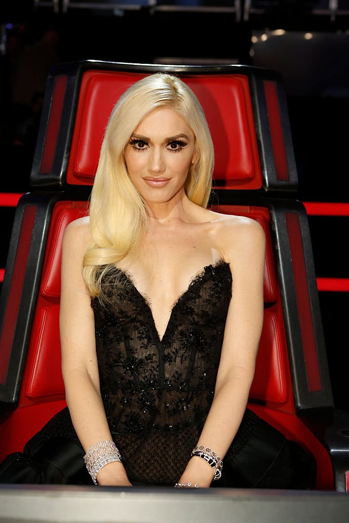 A portrait of Gwen Stefani on singing competition show 'The Voice' Source | Photo: Getty Images