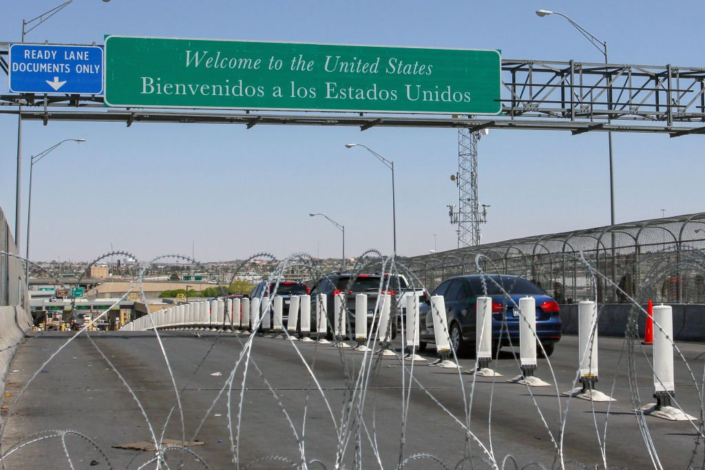 Border crossings at the Cordova-Americas international bridge, between El Paso, Texas, and Ciudad Juarez, Chihuahua state, in March 2019   Source: Getty Images