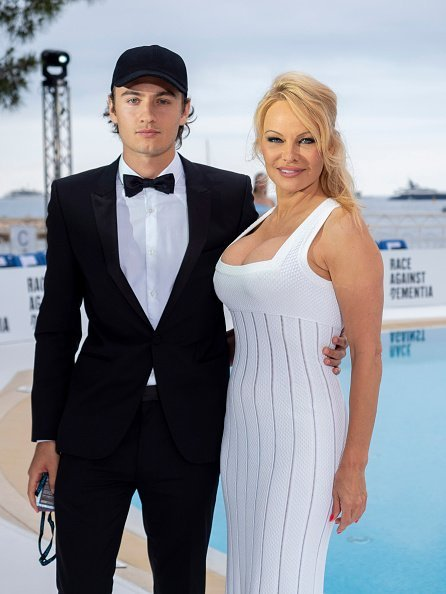 Brandon Lee and Pamela Anderson attended Amber Lounge 2019 Fashion Show on May 24, 2019 in Monte-Carlo, Monaco. | Photo: Getty Images