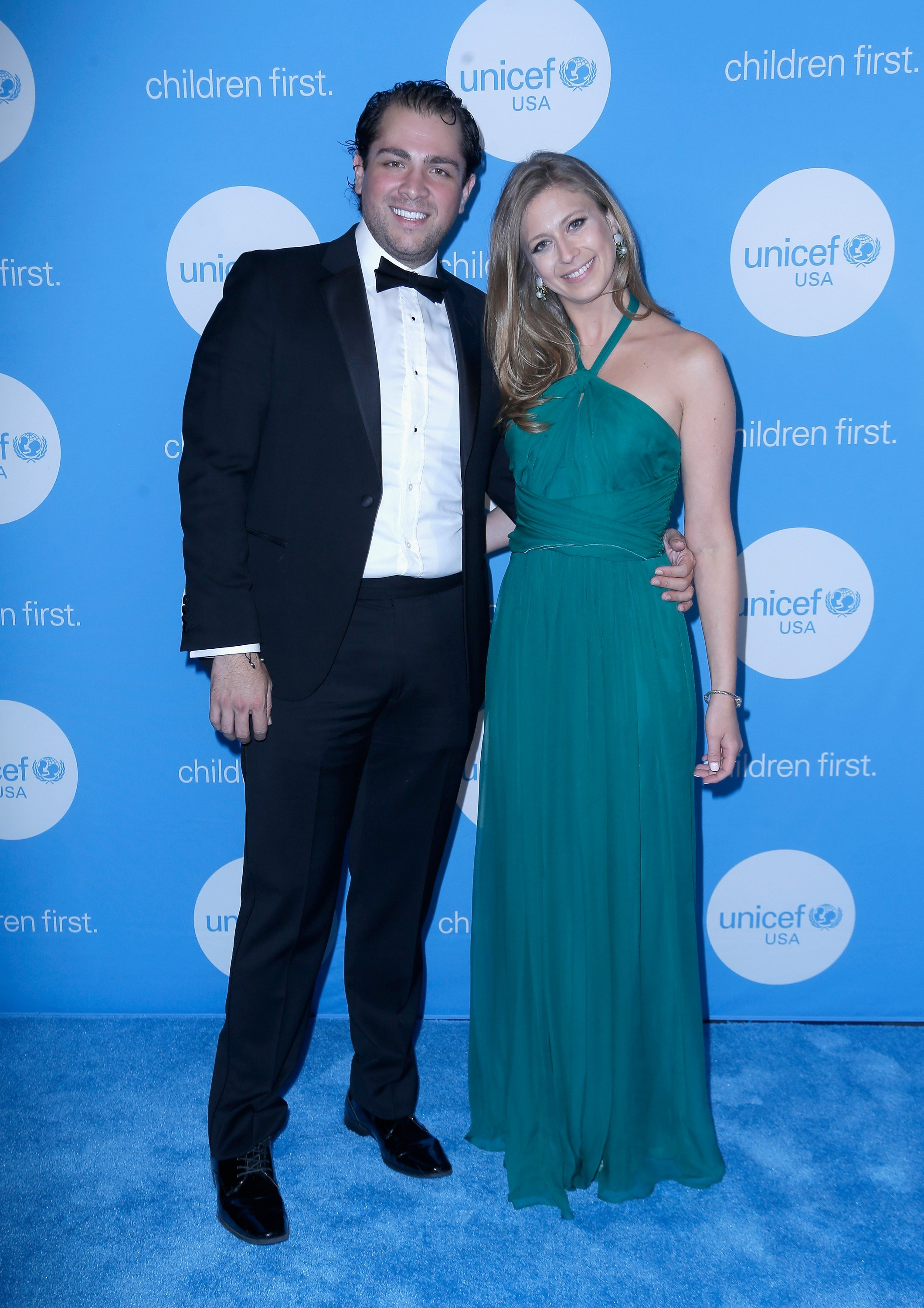 Guillermo Sierra and Princess Tatiana Galitzine at the fourth annual UNICEF Audrey Hepburn® Society Ball on May 24, 2017, in Houston, Texas | Photo:Bob Levey/Getty Images