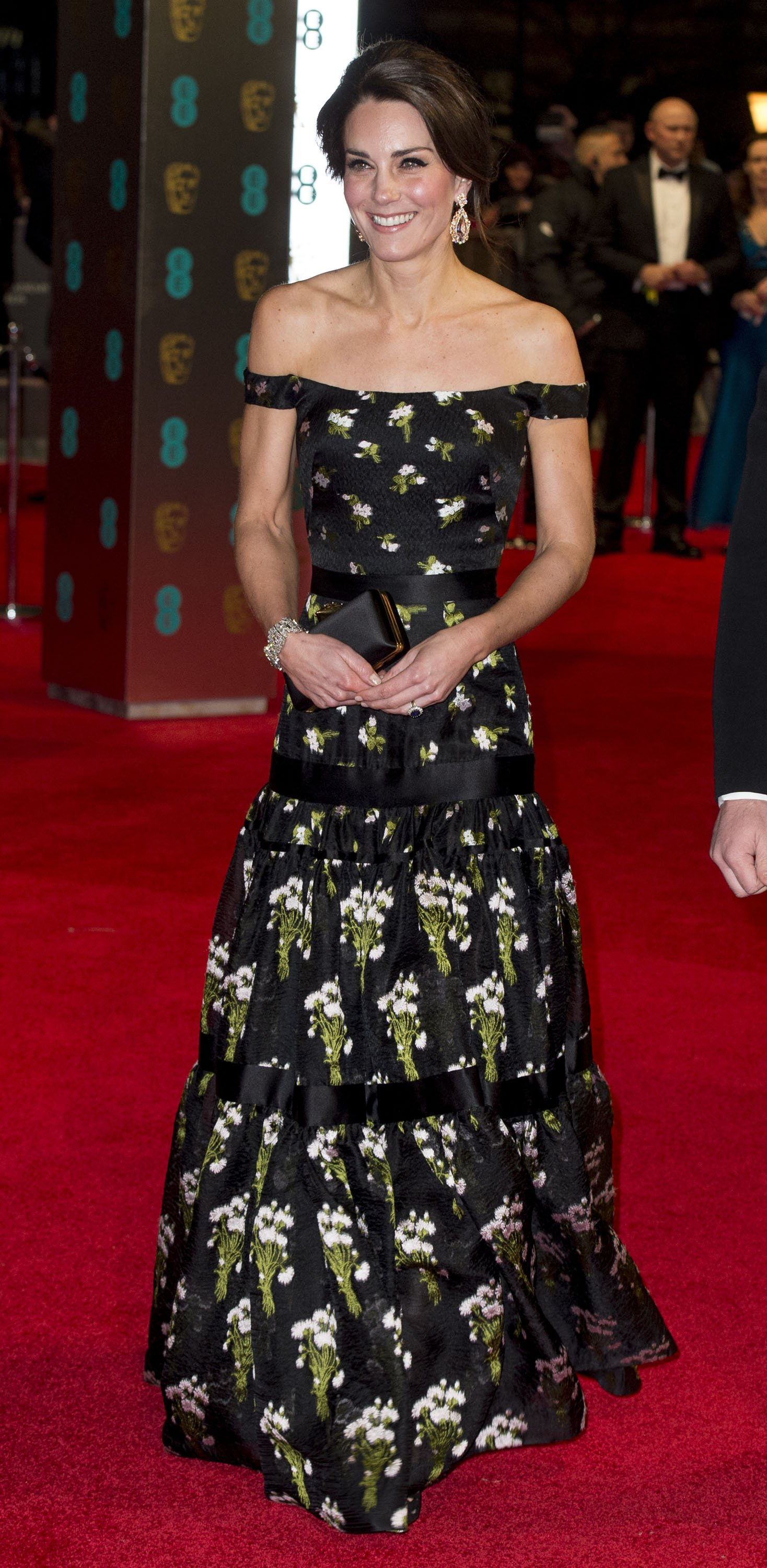 Kate Middleton en el Royal Albert Hall el 12 de febrero de 2017 en Londres, Inglaterra. | Foto: Getty Images