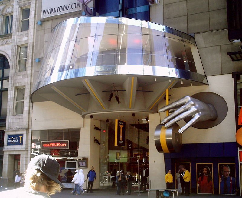 Madam Tussaud's in New York/ Source: Wikepedia
