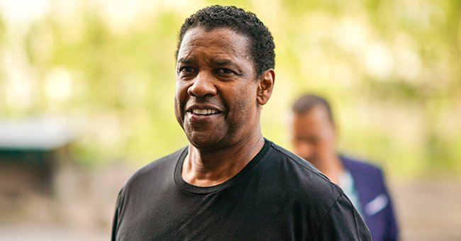 Denzel Washington Helps Distressed Man in Street Amid Oncoming Traffic