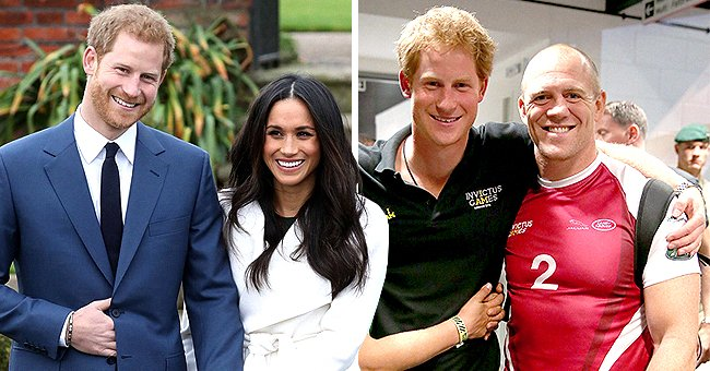 Queen's Grandson-In-Law Mike Tindall Chooses Not to Answer Question about Meghan and Harry's Royal Exit