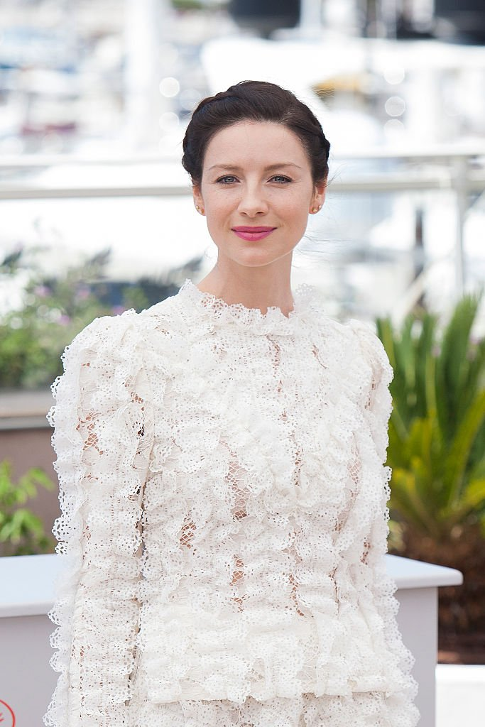 """Caitriona Balfe attends a photocall for """"Money Monster"""" in Cannes, France on May 12, 2016 