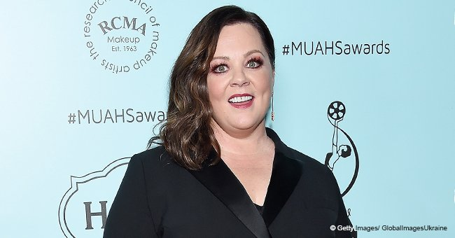 Melissa McCarthy turns heads as she stepped out in a sophisticated black pantsuit