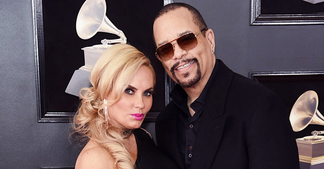 Ice-T's Wife Coco & Daughter Chanel Pose in Matching Blue Swimsuits (Photos)