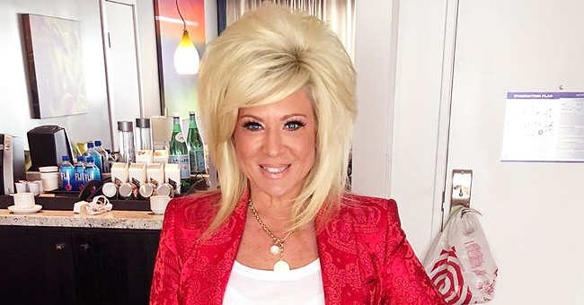Theresa Caputo of 'Long Island Medium' Appears to Be in Good Spirits in New Photo after Her Son Is Home Following Surgery